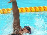 林莉获200米个人混合泳的金牌