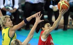中国女篮在半决赛中以56:90不敌澳大利亚