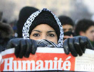 世界各地爆发反战示威