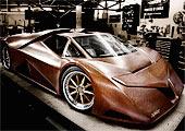 木头超级跑车