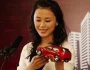 选手现场解说车模 最爱女主播 2009上海车展