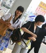 到现场啦 最爱女主播 2009上海车展
