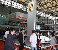 2009上海车展保时捷展台