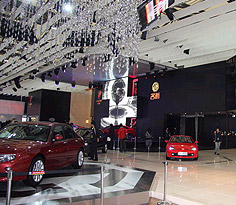 2009上海车展上汽展台