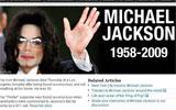 迈克尔杰克逊去世 纽约每日新闻