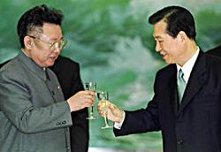 """""""阳光政策""""推动和平外交"""