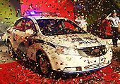 吉利帝豪EC718警车捐赠