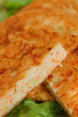 胡萝卜肉丝饼