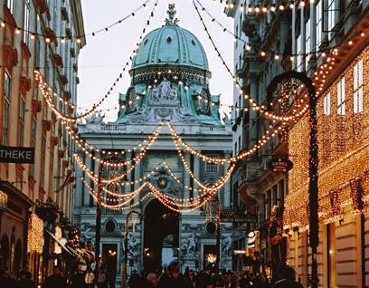 维也纳漫步 皇家之都发现往日辉煌
