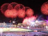 天安门广场燃放焰火