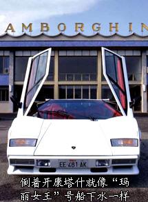 汽车博物馆之兰博基尼康塔什系出名门高清图片