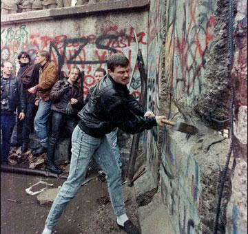 柏林墙倒掉