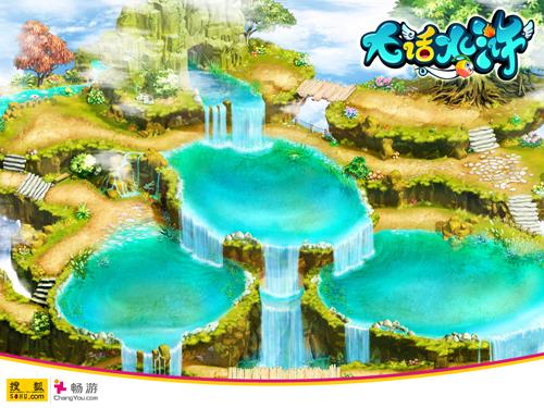 超梦幻q版回合制网游《大话水浒》精美游戏截图--漂亮的房子
