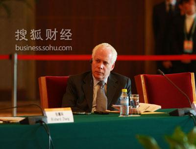 美国汉盛资本公司创始人、主席马 特 (王玉玺摄)