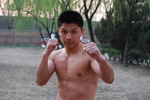"""北京队70公斤级队员 """"红魔剑客""""肖吉健"""