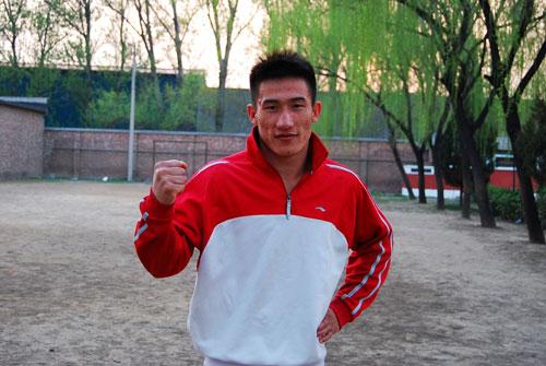 北京队75公斤级队员 张永发