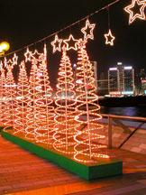 香港旅游,圣诞,香港美景,星光大道