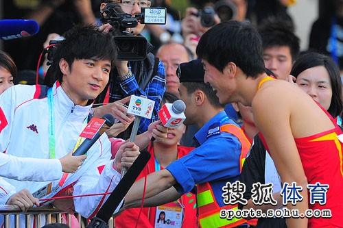 刘翔,东亚运动会