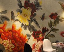 广州国际设计周,中式牡丹展厅