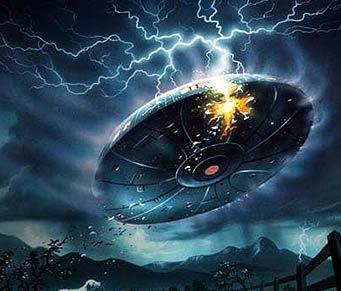 莫斯科上空惊现巨型UFO
