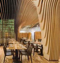 波浪般轻盈的Banq酒吧餐厅