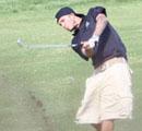 贝克汉姆打高尔夫球