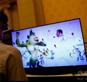 三菱超大尺寸3D电视