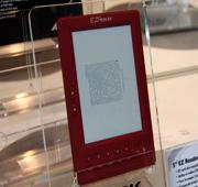 数十款产品亮相电子书展区