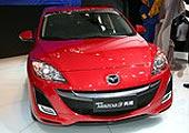 进口Mazda3两厢前脸
