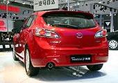 进口Mazda3两厢车尾