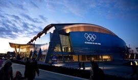 里奇满奥林匹克体育馆,2010温哥华冬奥会