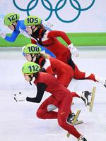温哥华冬奥会,王��,短道速滑