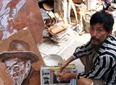 艺术家,艺术,,宋庄艺术区,生活,卖画,艺术创作