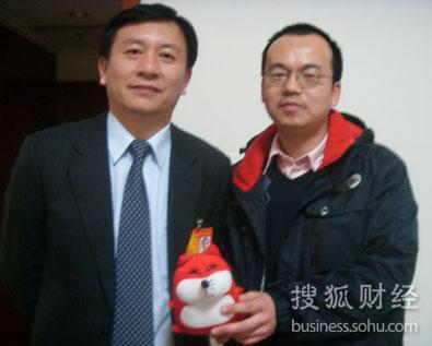 海南省副省长姜斯宪接受搜狐财经