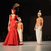 搜狐直击香港2010时装周秋冬系列