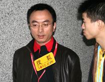 《21世纪药店》副总编李俊国,美博会