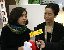 PEVONIA倍丽雅亚洲有限公司市场部总监张郁安、培训部总监李艳君