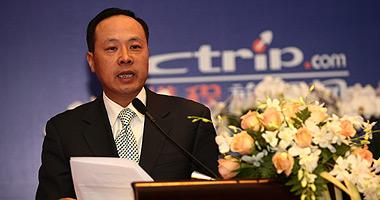 携程旅行网副总裁丁小亮为中国旅游科学年会致辞