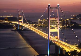 青马大桥出镜电影《双雄》