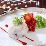 生石斑鱼薄切片配红果子及红果子汁,Zeffirino Ristorante,香港意大利餐厅