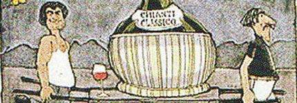 """英国画家葛兰姆-克拉克的""""红酒版画"""""""