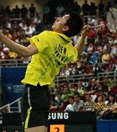 陈金,2010汤尤杯,羽毛球