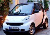 奔驰Smart纯电动汽车