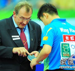 王皓,世乒赛,2010世乒赛团体赛