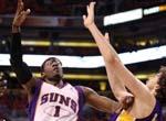 小斯强势突破隔加索尔爆扣 NBA湖人VS太阳