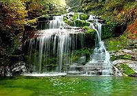 九龙瀑布:金花银瀑的故乡