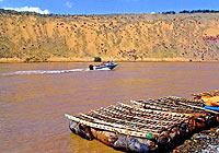宁夏沙坡头:天下黄河第一漂