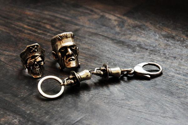 伦敦珠宝品牌Dog State骷髅银饰