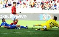 南非世界杯,朴智星