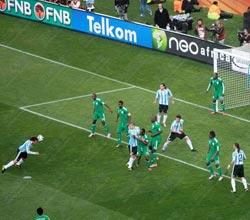南非世界杯,阿根廷VS尼日利亚,海因策